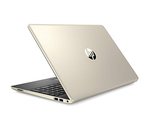 HP Pavilion 2019 15.6 HD LED Laptop Notebook Computer PC, Intel I5-8265U, 8GB DDR4 RAM, 256GB PCIe Nvme SSD, USB 3.1, USB-C, Bluetooth, Webcam, Wi-Fi, Fast Charging, Windows 10 Home, Gold (Hp Pavilion 15t Touch Laptop)