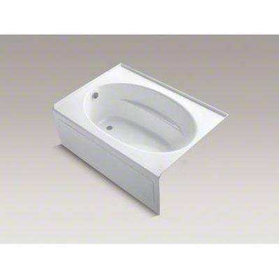 Acrylic Windward White (KOHLER K-1113-LA-0 Windward 5-Foot Bath with Integral Apron, White)