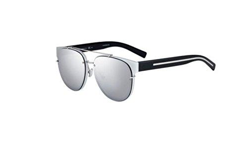 Authentic Christian Dior Homme Black Tie 143 SA 002S/DC Silver Black Sunglasses