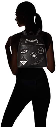 Patchwork Cm Backpack Noir Sacs T nero H 0x13 30 Exchange Femme Armani 0x28 b X 0 Menotte Cnx5qYw