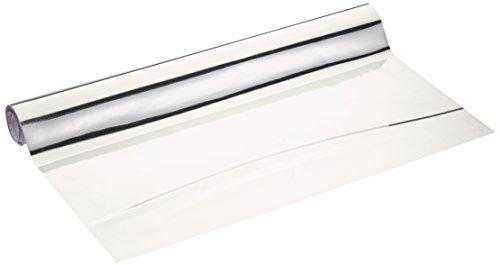 Wenko 5108013500 Spiegelfolie - zuschneidbar, Kunststoff - PET, Silber