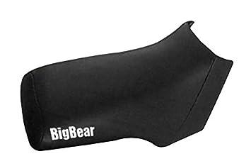 Yamaha Kodiak Big Bear 350 400 Black Atv Seat Cover