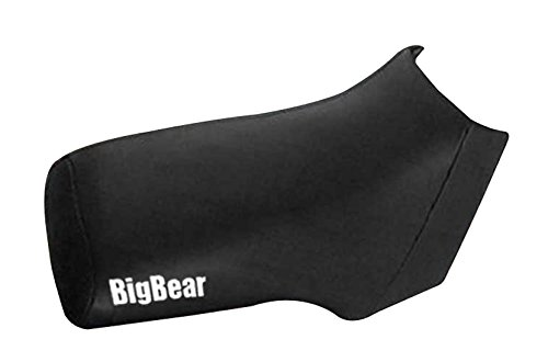 Yamaha Kodiak Big Bear 350 400 Black Atv Seat Cover