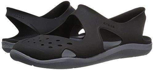 Swiftwater Crocs Donna Black Sabot Wave Hdxxw1X