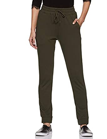 Amazon Brand - Symbol Women's Tapered Fit Regular Track Pants