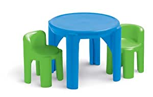 Little Tikes Bold 39 N Bright Table And Chairs Set Table
