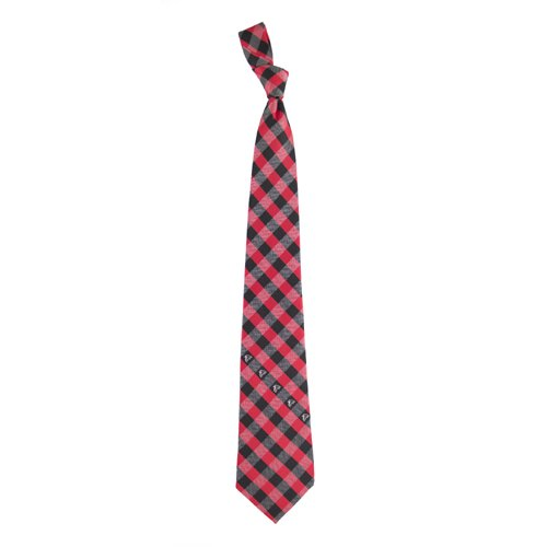 Atlanta Falcons Check Poly Necktie