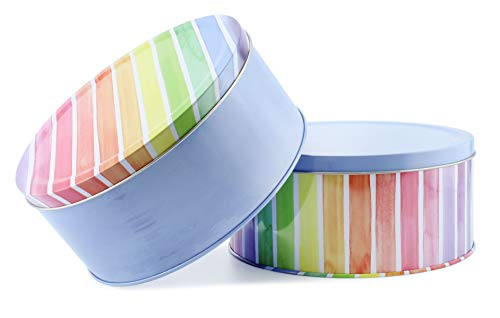 Cornucopia Cookie Tins Set