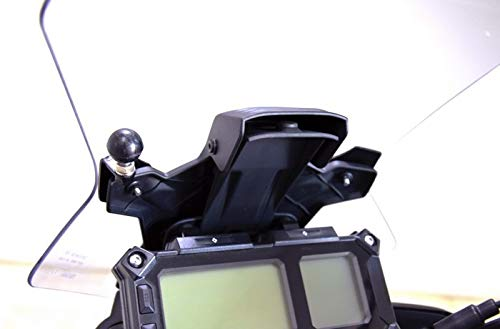 Yamaha Tracer 900 '18- Cockpit GPS Bracket with RAM Ball Moto Discovery