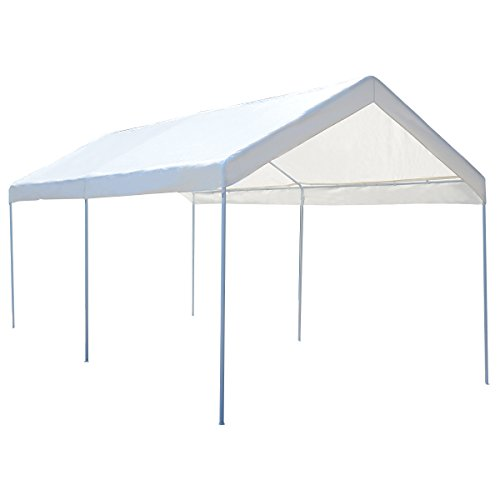 Tangkula 10 x 20 Heavy Duty Portable Car Carport Garage Cover Shelter by Tangkula
