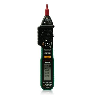 Mastech MS8212A Digital Pen Type Multimeter NCV Diode Continuity Logic VS MS8211D