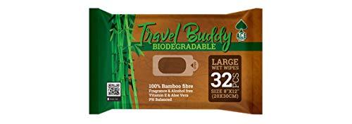 🥇 Ace Wipes Travel Buddy – Toallitas húmedas de bambú