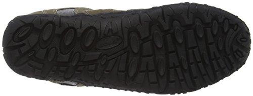 Gola Elias, Zapatillas de Deporte para Exterior para Hombre Beige (Taupe/black)