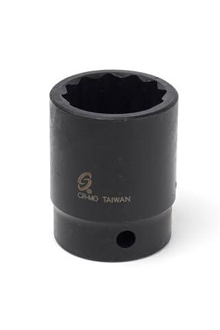 Sunex 225zm 1/2-Inch Drive 25-mm 12-Point Impact Socket - 25 Mm Socket