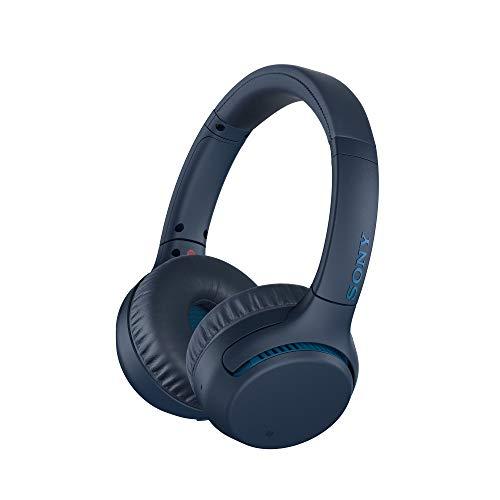 Sony WH-XB700 Wireless Extra Bass Bluetooth Headphones, Blue