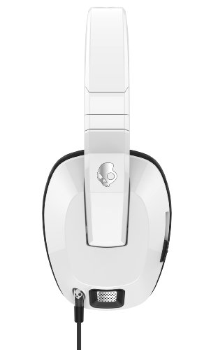 31cgF1pa0qL - Skullcandy Crusher Headphones with Built-in Amplifier and Mic, White