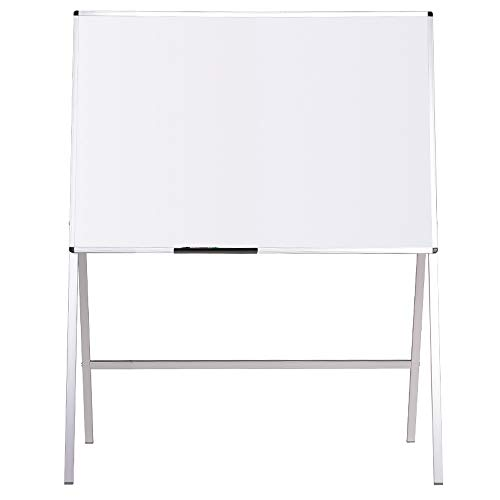 - VIZ-PRO Magnetic H-Stand Whiteboard/Adjustable Dry Erase Easel,36 x 48 Inches