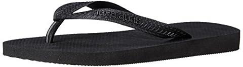 Havaianas Women's Top Sandal Flip Flop, black, 39 BR/9/10 W US (Green Flip Flops)