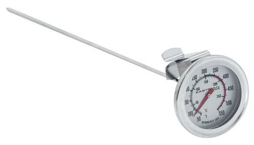 Inch AccuZone Deep Fry Thermometer (12 Inch Turkey Frying Thermometer)