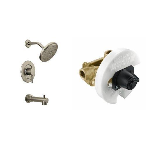 Moen Brushed Nickel Tub and Shower Trim Kit Amazoncom