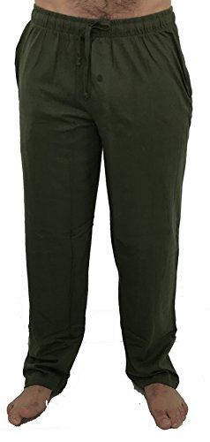 At The Buzzer 14500-Olive-XXL Men's Pajama Pants/Sleepwear/PJS