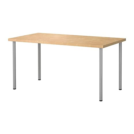 Ikea Linnmon - Mesa multiusos con patas de Adils: Amazon.es: Oficina ...