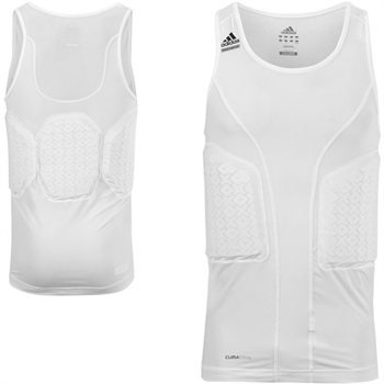 Amazon.com: adidas TECHFIT Mens Padded Compression Tank Top (XX-Large Tall, White): Sports & Outdoors