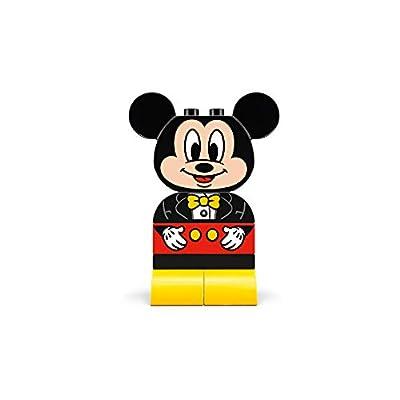 LEGO DUPLO Disney Juniors My First Mickey Build 10898 Building Bricks (9 Pieces): Toys & Games