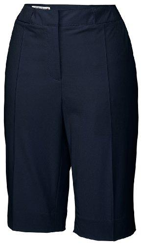 Cutter & Buck Women's Drytech Pin Tuck Short, Navy Blue, 6 by Cutter & Buck