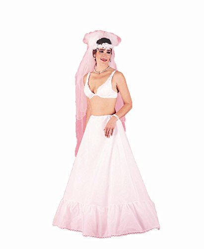 New Single Hoop Bridal Skirt Bridal Taffeta Petticoat Wedding Gown Slip (104DS)