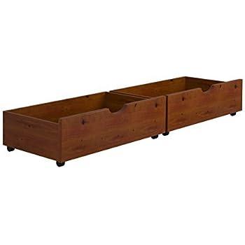 Under Bed Storage Drawers Espresso