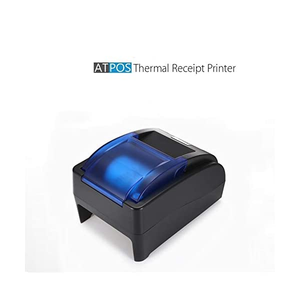 ATPOS 58MM (2 Inch) USB Bluetooth H-58BT Thermal Receipt Printer | Compatible with ESC/POS Print Billing Invoice | Wireless Mobile Printing