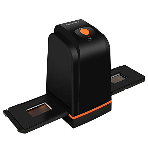 135 Film Slide Scanner Converts Negative,Slide&Film to Digital Photo,Supports MAC/ Windows XP/Vista/ 7/8/10