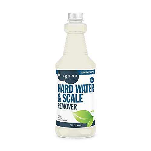 Origenz Natural Hard Water & Scale Remover, All Natural, 32 fl. Oz, (Pack of 6)