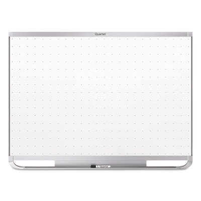 Quartet Prestige 2 Magnetic Total Erase Whiteboard, 48 x 36, Aluminum Frame by Quartet