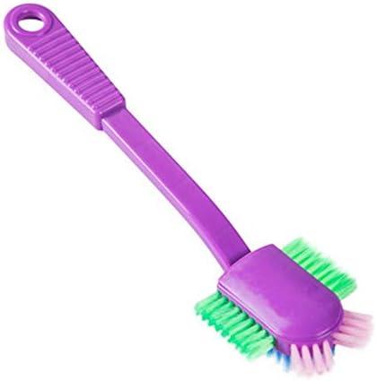 Luxurat Long Handle Shoe Brushes Household Shoe Cleaner Soft Nylon Hair Brush Shoes Brushes