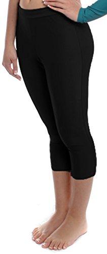 Girls Capri Large Black by B Dancewear Child and Kid Sizes