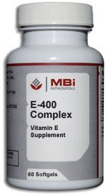 MBi Nutraceuticals E-400 Complex (180 sg) by MBi Nutraceuticals