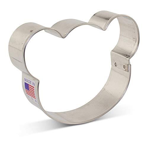 Bear Face Cookie Cutter - 3.5 Inch - Ann Clark - USA Made Steel ()