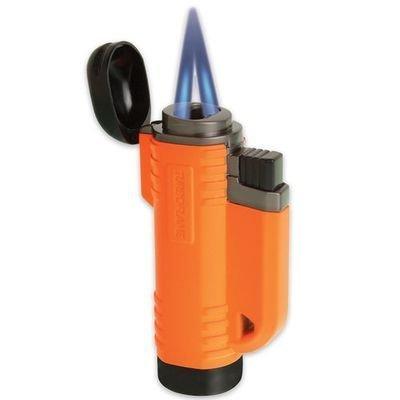 Turboflame Delta V Flame Antiviento Mechero Militar Fuego De La Estufa Bbq - Workmate Naranja