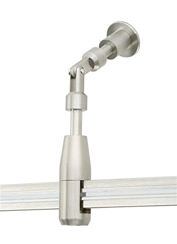 Tech Lighting 700MOCVLTS, MonoRail Standoff Vault Adapter, Satin Nickel - Rigid Standoff Satin