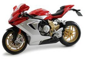 MV Agusta F3 Serie Oro Motorcycle MAISTO Diecast 1:12 Scale (1 12 Die Cast compare prices)