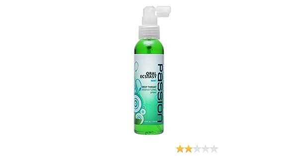 d5cf1d5622cccc Amazon.com   Passion Deep Throat Mint Flavor Sex Spray  Size 4 Oz.   Beauty