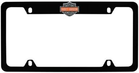 Harley-Davidson Color Bar /& Shield With HD Wordmark License Plate Frame Holder