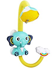 Baby Bath Toys for Kids Electric Elephant Sucker Baby Shower Spray Water Toys for Kids Pool Toy Bathtub Toys Sprinkler Baby Toys