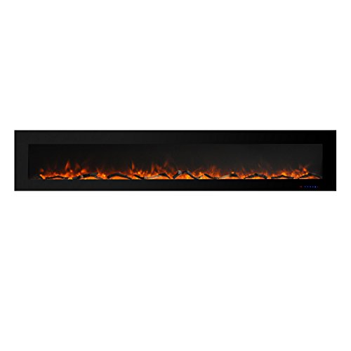 PuraFlame Remote Handset for Serena 50 Inches Wall Mounted Linear Electric Fireplace