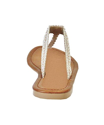 para Mujer Beige Sandalias By Shoes Eaq6YY