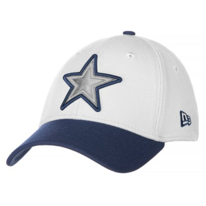 New Era Authentic Dallas Cowboys Gray Sideline 39THIRTY Flex Hat (L XL) 66aa444fc