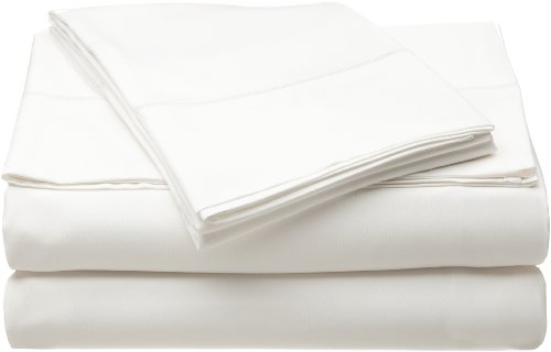 Home Source Bamboo (Home Source International 100% Rayon from Bamboo Bamboo Fitted Sheet Queen White)