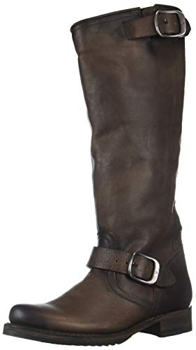 FRYE Women's Veronica Slouch Mid Calf Boot, Stone, 9 M US ()